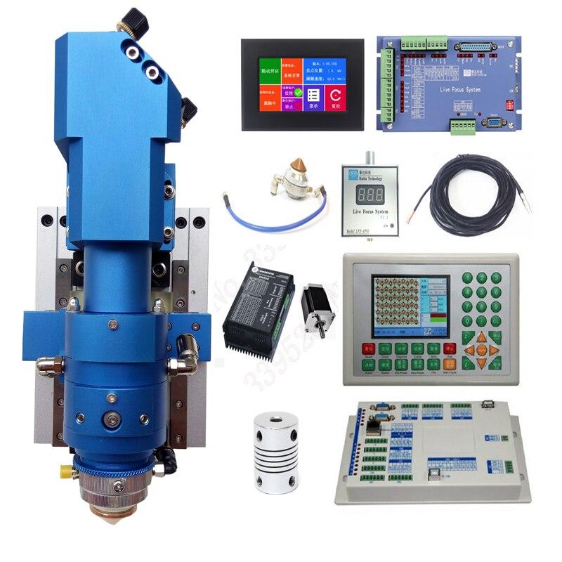 Focagem automática Ruida CO2 sistema de corte a laser folha de metal e não de metal misturado 130 w-500 w máquina a laser