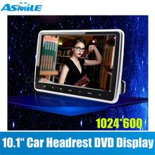 10.1 inch automobile dvd headrest participant monitor with 32Bit Video games+USB+SD+IR/FM transmitter,CAR Mounted Hearest Video Monitor