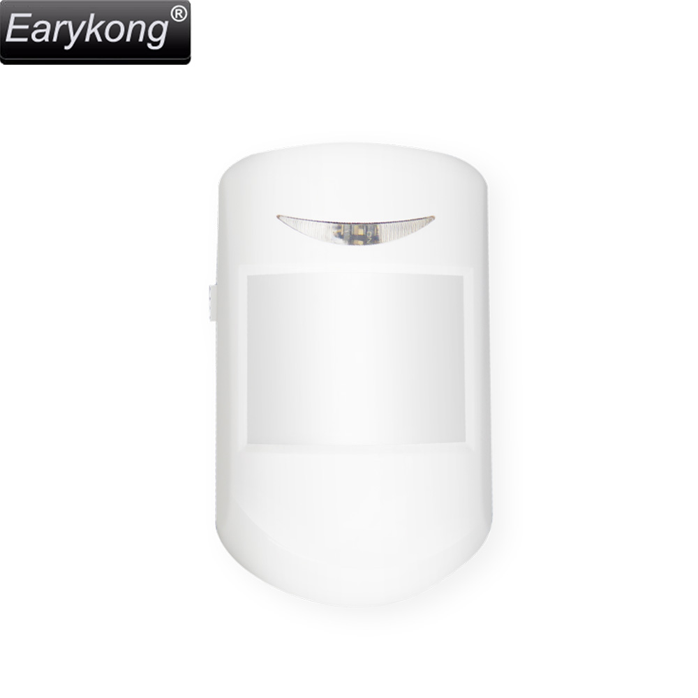 Hot selling 433mhz wireless sensor motion detector, home security alarm sensor, for home burglar alarm system, stable working wireless smoke fire detector for wireless for touch keypad panel wifi gsm home security burglar voice alarm system