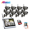 ARSECUT 8CH NVR 960P HDMI CCTV System Video Recorder Home Security Waterproof Night Vision IR Wireless
