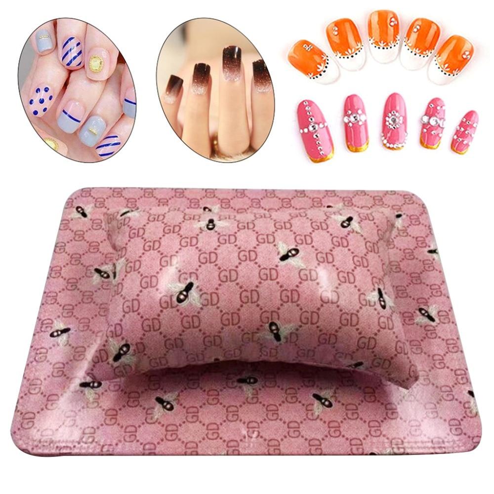 Handauflagen Kemei Abnehmbare Washable Soft Hand Kissen Kissen Schwamm Rest Werkzeug Für Nail Art Maniküre