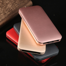 Ultra-thin power bank 10000mAh Power Bank10mm Portable External Lithium Polymer Batteries For Mobile Phone For Huawei Top sales