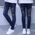 2017 Spring Autumn Girls Jeans Kids Pencil Pants Baby Girl Denim Pants Children Leggings Child Slim Jeans for Girls Trousers