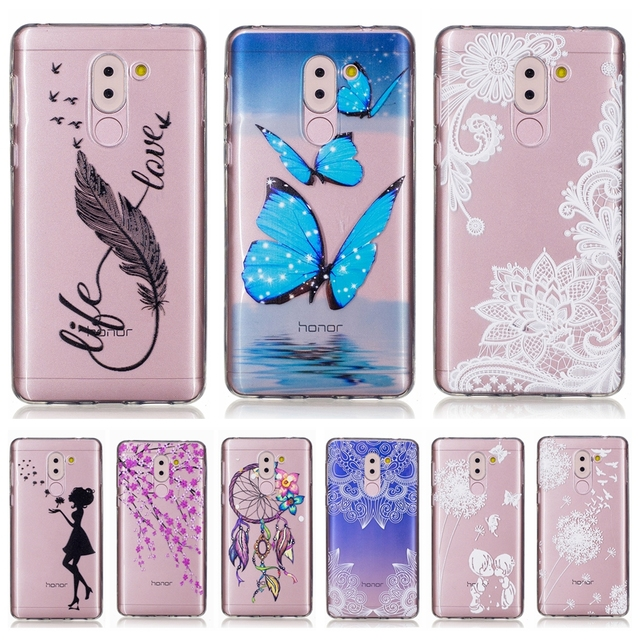 Soft TPU case sFor Fundas Huawei Honor 6X case For Coque Huawei...