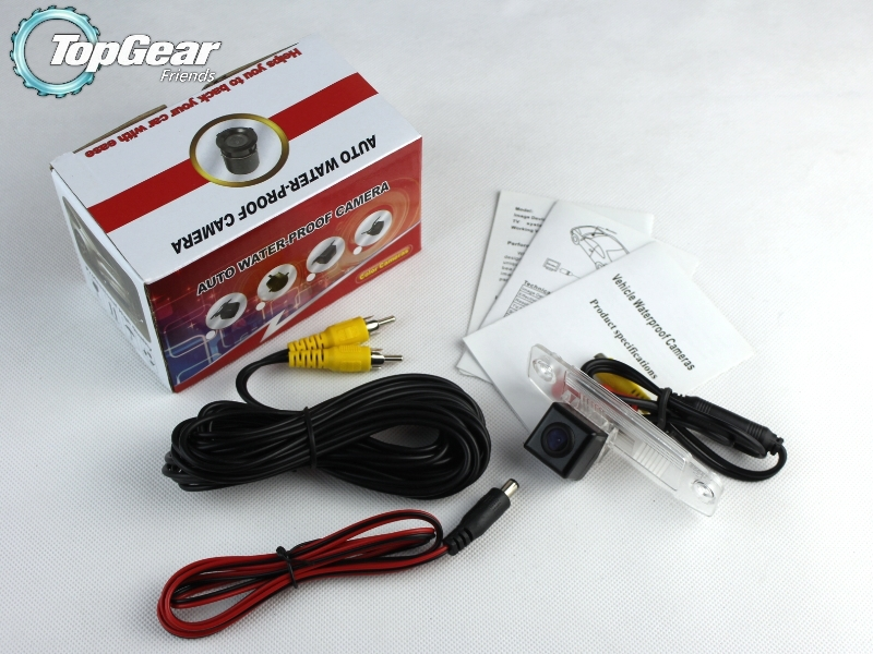 Car Camera For Hyundai Avega / Brio / Super Pony / Verna High Quality Rear View Back Up Camera For Top Gear Fans Use  CCD + RCA