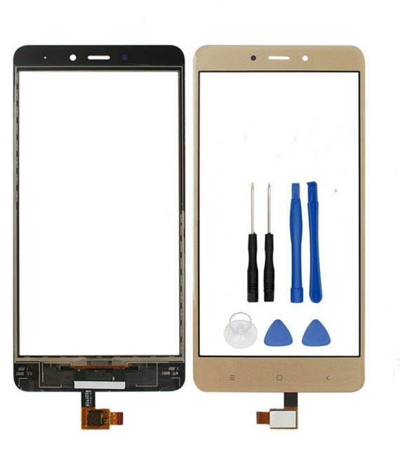 for Redmi Note4 Touch Panel Perfect Repair Parts for Xiaomi Redmi Note 4 Touch screen Front Screen Glass Cover Touchscreen