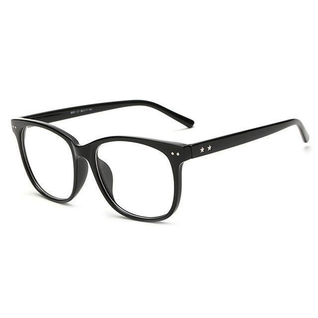 Online Shop Vintage Clear Lens Eye Glasses Frames For Men Women ...
