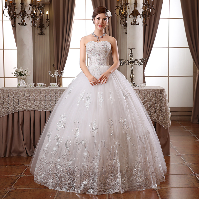 Vestidos de novia en forma de tubo