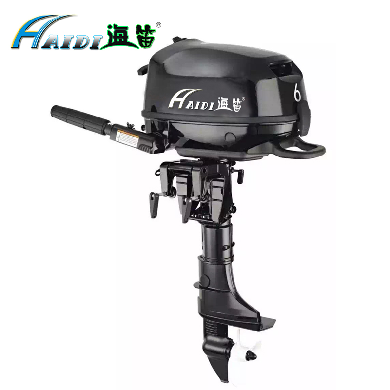 HaiDi Wholesale and Retails Water Cooled 4 -stroke 6 <font><b>HP</b></font> marine engine <font><b>outboard</b></font> <font><b>motor</b></font> for boats image