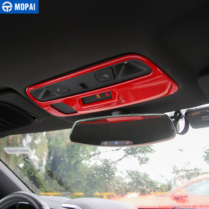 Image 2 - MOPAI ABS Car Interior Roof Reading Light Lamp Decoration Cover Stickers for Chevrolet Camaro 2017 Up Car Accessories Styling