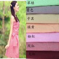 The New Colorful Striped Cotton Cloth And Cotton Fabric Shirt Dress Children Clothing Handmade DIY Cloth