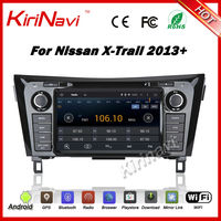 Kirinavi android 7.1 car mirror link dvd player for nissan qashqai Xtrail 2013 2014 2015+ car radio navigation 1024x600 HD WIFI
