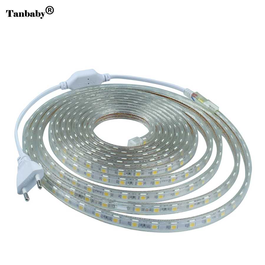 Aliexpress.com : Buy AC 220V led strip light SMD5050 ...