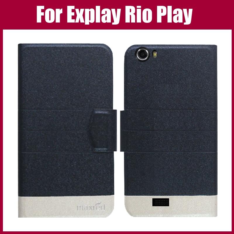 Chaud! Coque de jeu Explay Rio, nouveauté 5 couleurs étui exclusif en cuir de haute qualité pour housse de jeu Explay Rio