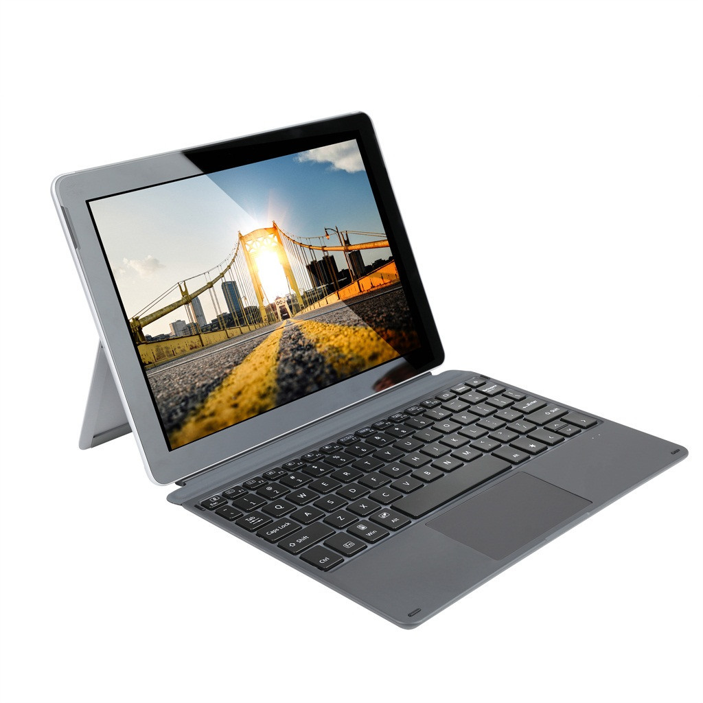 For Microsoft Surface Go Magnetic Slim Wireless 7 Color LED Backlit Bluetooth Keyboard T08