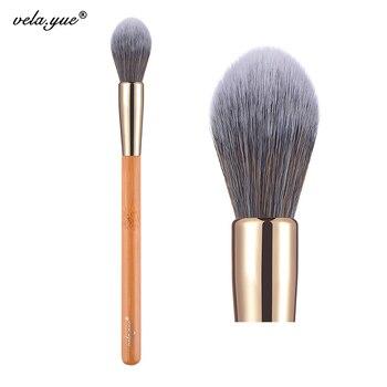 vela.yue Precise Face Makeup Highlighter Brush Multipurpose Blending Contour for Powder Blusher Bronzer Cream Liquid Foundation 1