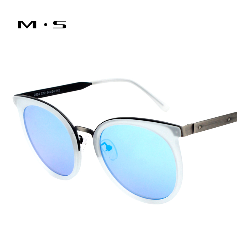 MS 2017 Fashion Sunglasses Women Luxury Brand Designer Polarized Sun glasses Female Cat eye Glasses For Women Eyewear J31