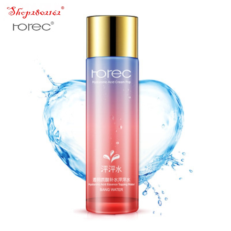 2018 Horec hyaluronic acid moisturizing hydrating moisturizing pores mild nourishing toner