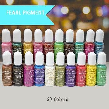 15g/Bottle Pigment Epoxy UV Resin DIY Handmade Art Crafts Coloring Dye Colorant