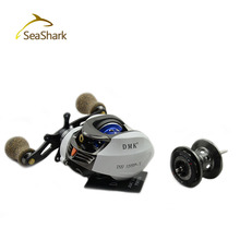 SEASHARK2015 New baitcasting reel 14 ball bearings carp fishing gear Left Right Hand bait casting fishing ree