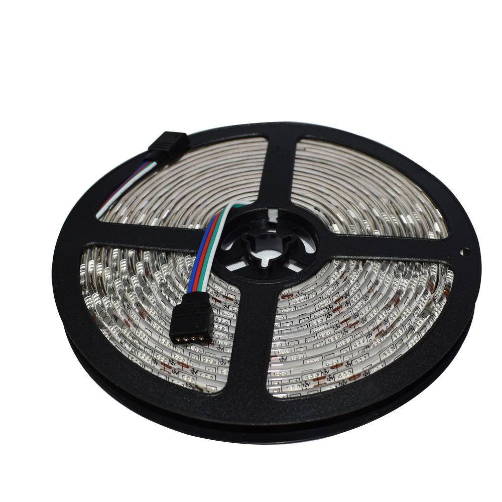 5050 RGB LED Strip Light DC12V 5 meters 60led/m led Tape IP65 Waterproof diode ribbon with 44Keys remote controller