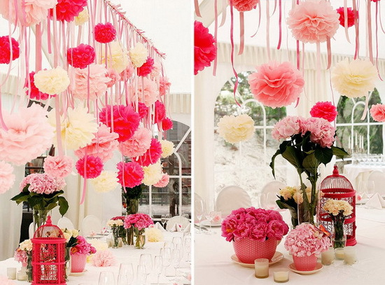 Aliexpress buy diy 8 inch 20 cm tissue paper pom poms aliexpress buy diy 8 inch 20 cm tissue paper pom poms decorative paper flowers balls for wedding centerpieces party decorations multicolor from mightylinksfo
