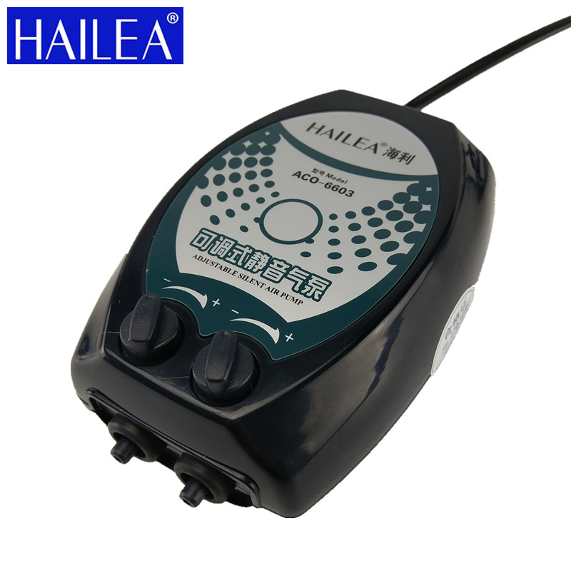 Hailea Air Pumps Fish Tank Oxygen Pump 2W 2 5W 3W 4W 1 2 Outlets Aquarium