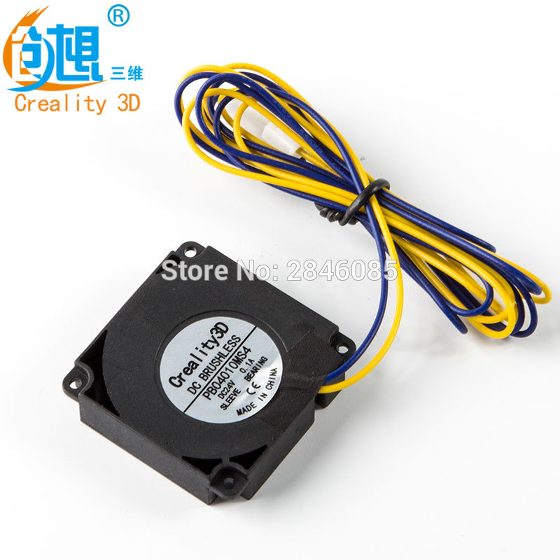 ender 3 24V <font><b>4010</b></font> air <font><b>Blower</b></font> 40MM 40x40x10MM Cooler Small Cooling Fan For Ender-2 Ender-3 Ender-4 3D Printer Parts image