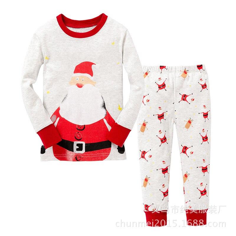 41dc7d8cad8a Boys girls Pajamas sets Unisex children s clothing Cotton Household ...