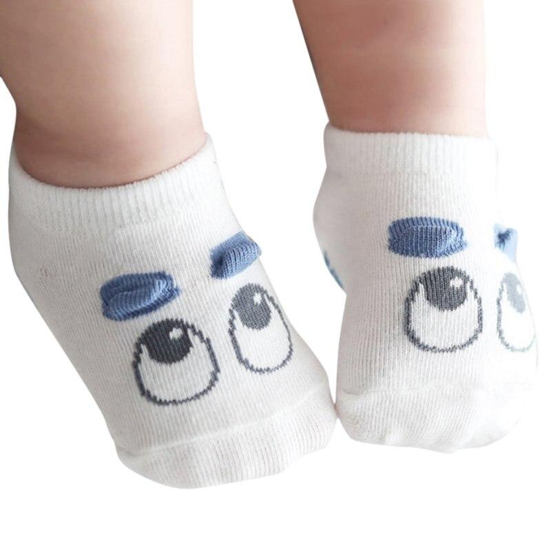 ⑧1 par recién nacido Calcetines bebé niño Niñas infantil lindo ojo ...
