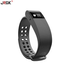 Новый Smart Band ID105 шагомер Фитнес Tracker браслет Heart Rate Мониторы часы заряд Браслет для Android IOS PK fitbit TW68