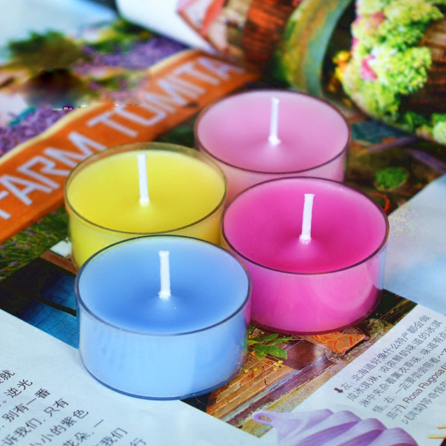 6 DIY Candles Acrylic Empty Cups Homemade Scented Candles Transparent Mini Containers Handmade Aromatherapy Wax Candle Mold
