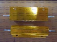 5 шт./лот RX24-100W 47R 47 Ом из светодиодов нагрузочного резистора алюминиевый чехол проволочный резистор
