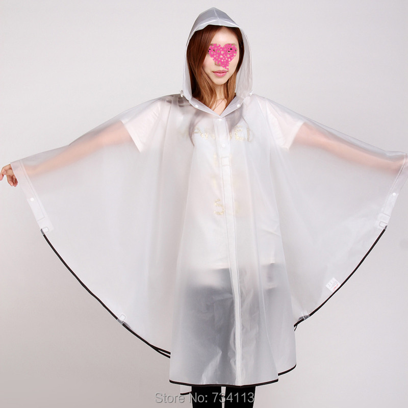 Fashion Rain ponchoEnvironmental protection EVA outdoor Rain gear - Household Merchandises - Photo 6