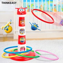 ThinkEasy Hoop Plastic Ring Toss Quoits Garden Game Pool Children Outdoor / Home Educational Toys