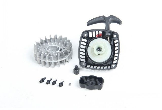 Easy start pull starter + flywheel with claw for 32CC