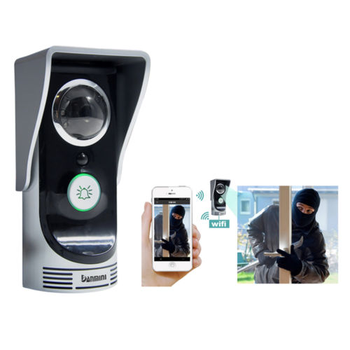 WF-Doorbell Direct Factory Wireless WiFi Remote Video Camera Door Phone Doorbell Intercom Monitor Security 220v hot and cold home oil press machine peanut soy bean cocoa oil press machine high oil extraction rate zyj 02