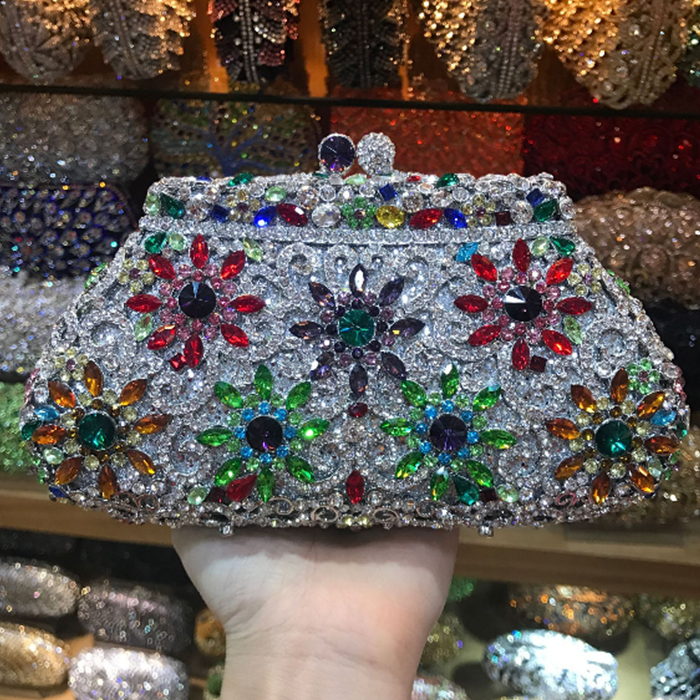 Christmas gift bags box Party Purse Luxury Crystal Diamond Deluxe banquet Evening Bags bridesmaid packet Wedding Prom Clutch Bag hot evening bag wedding women austrian diamond aluminium female shinestone banquet wedding party lady beaded prom clutch bags
