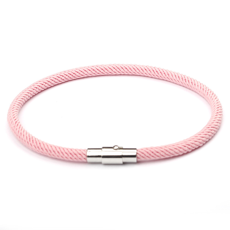 NIUYITID Red Thread Bracelet Women Men Silver Color Magnetic Buckle Charm Girl's Gift Jewellery Wholesale Price pulsera roja (3)