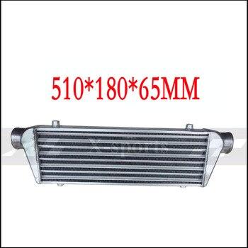 Sistema de refrigeración del coche turbo radiadores intercooler montaje frontal universal cuerpo de núcleo de aluminio de alta calidad 510*180*65 APEXI