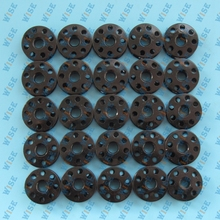 25 pcs. INDUSTRIAL SEWING MACHINE BOBBINS FOR JUKI DDL8700 black#B9117-012-000-B=270010B