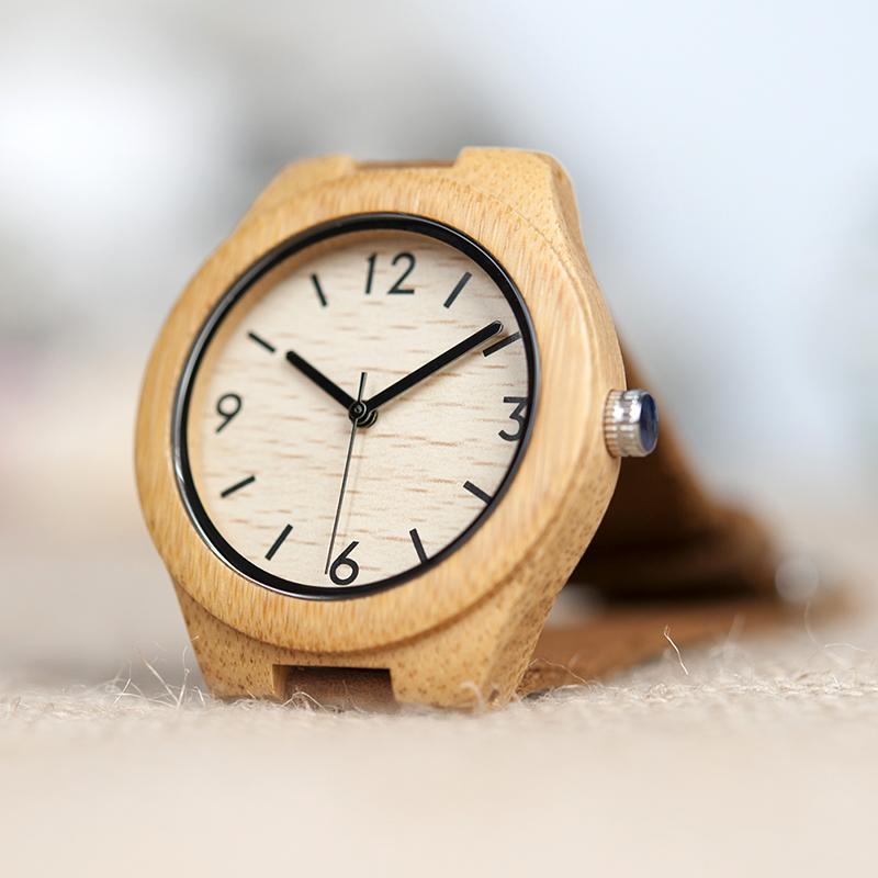 Damski drewniany zegarek Bobo Bird Note A32