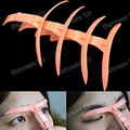 4Pcs/Set Eyebrow Stencils For Makeup Artists Eyebrow Stencil Tool DIY Eyebrow Stencils Shaping Grooming Make Up Reusable Design