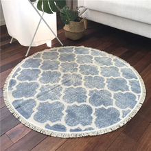 New Fashion Round Carpets For Living Room Home Bedroom Carpet Soft Kids Rug Entrance/Hallway Doormat Cloakroom Rugs