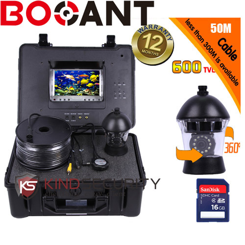 50m cable DVR Underwater submarine camera 360 degree camera underwater PTZ camera CR110-7C with 7 TFT monitor 1 set 50m cable 360 degree rotative camera with 7inch tft lcd display and hd 1000 tvl line underwater fishing camera system