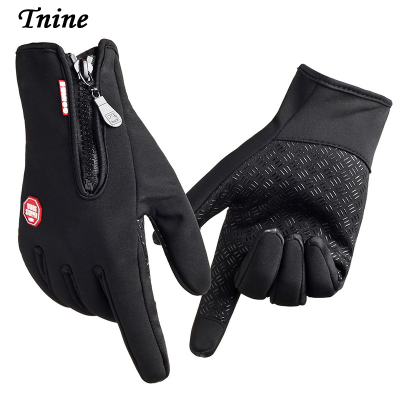 Tnine Gloves TouchScreen Windproof Gloves Mittenss