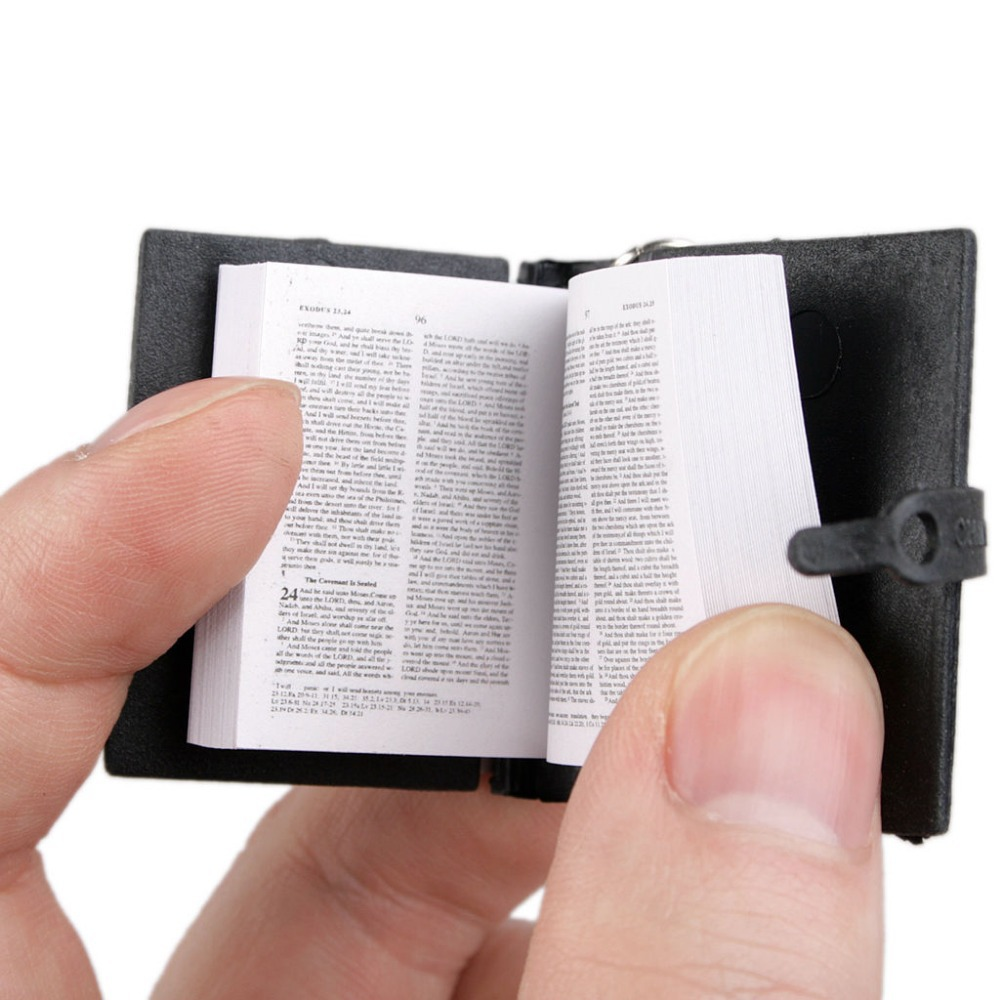 [wamami] 05# Black Cute Holy Bible Book For MSD SD DOD BJD Dollfie the holy bible king james version