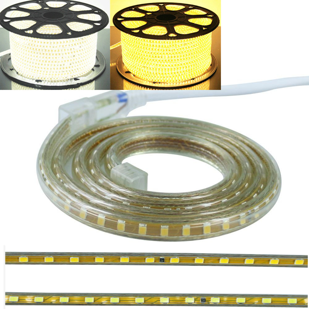 Ac 220v 110v Led Strip 3014 2835smd 120leds M 5050 Smd 60leds Circuit Board Waterproof China Flexible Rigid Light Stripe 100meter Brither Rgbw Ws2812b Ws2801 Ws2811 In Strips From Lights
