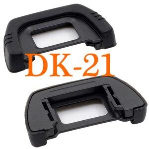 Image 1 - 2 pcs DK 21 고무 블랙 러버 아이 컵 뷰 파인더 니콘 D7000 D300 D90 D80 D600 D200 D100 D40 D50 D70S D610