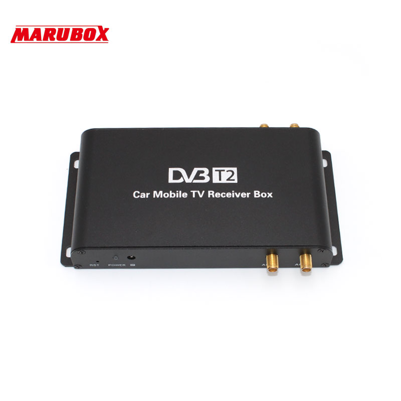 MARUBOX M9004 High Speed Car DVB-T2 4 Antenna 4 Mobility Chip DVB T2 Digital Car TV Tuner And USB HD 1080P TV Receiver BOX DVBT2 стоимость